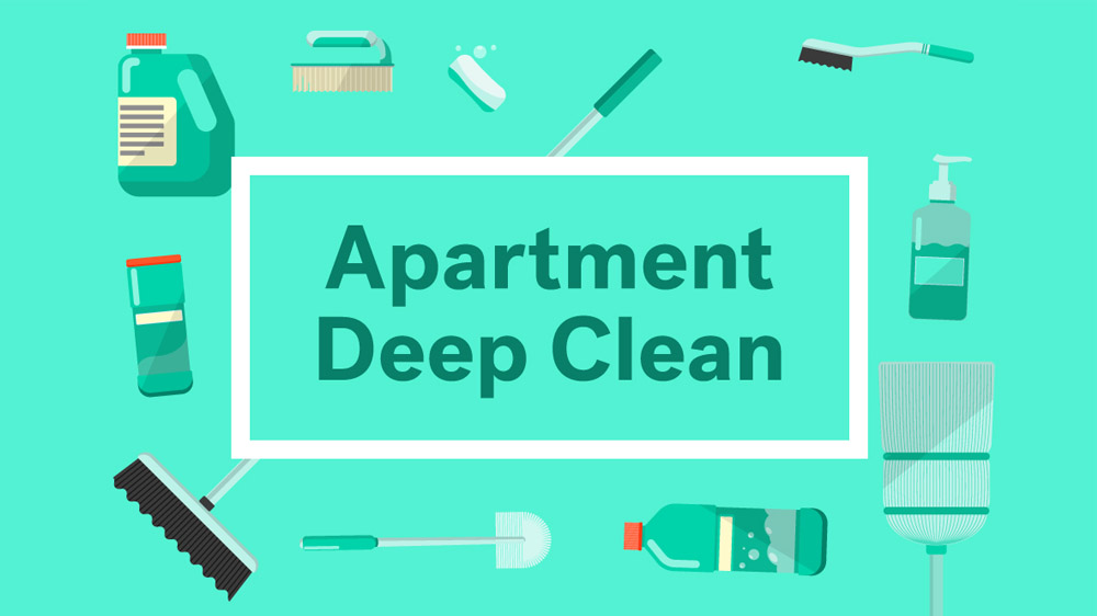 Apt Cleaning Checklist: What to Clean Before Moving into ...