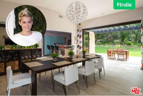 Miley Cyrus House In Malibu