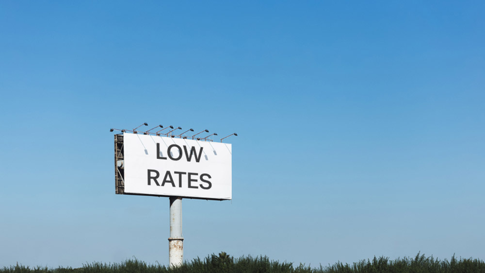 best interest rate advertised on sign