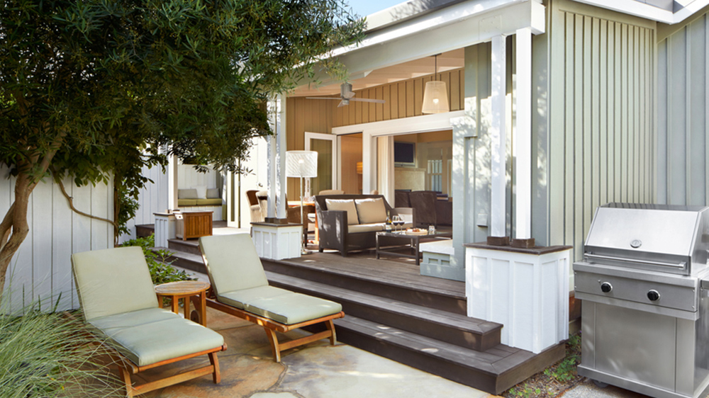 home with a new porch makeover