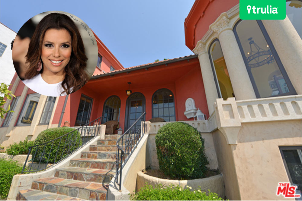 Eva Longoria House For Sale in Hollywood Hills CA