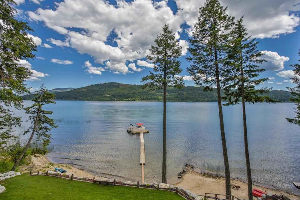 lake homes for sale cocolalla id