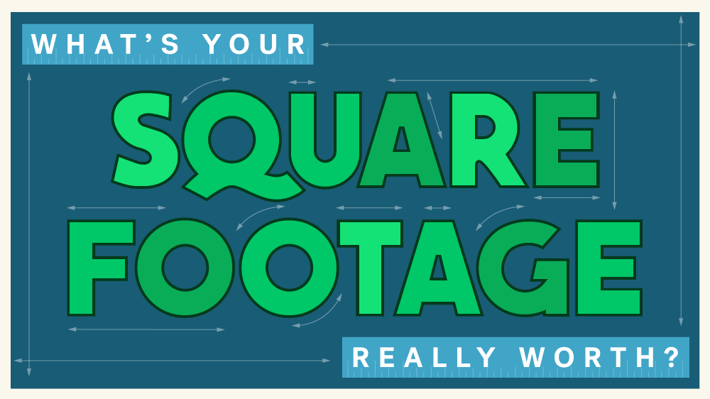 how to measure square feet