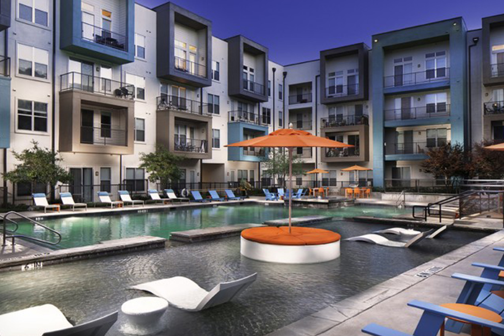 apartments for rent under 1000 dallas tx pool