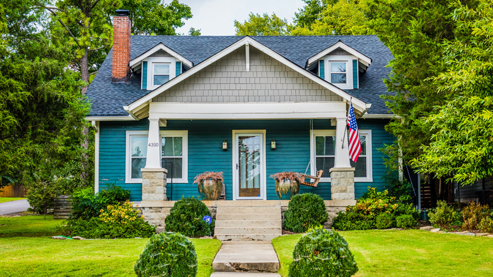 buying a home in nashville bright blue