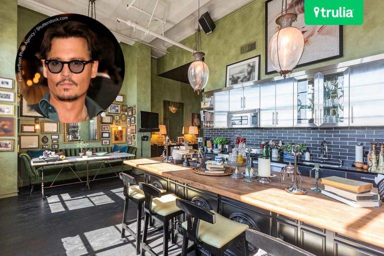 Johnny Depp Los Angeles Penthouses