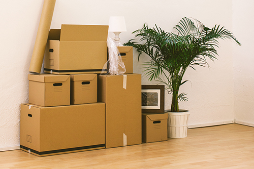 temporary storage while moving