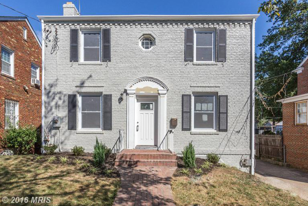 home for sale in washington DC city names