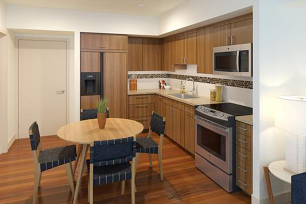 affordable hawaii real estate in honolulu kitchen