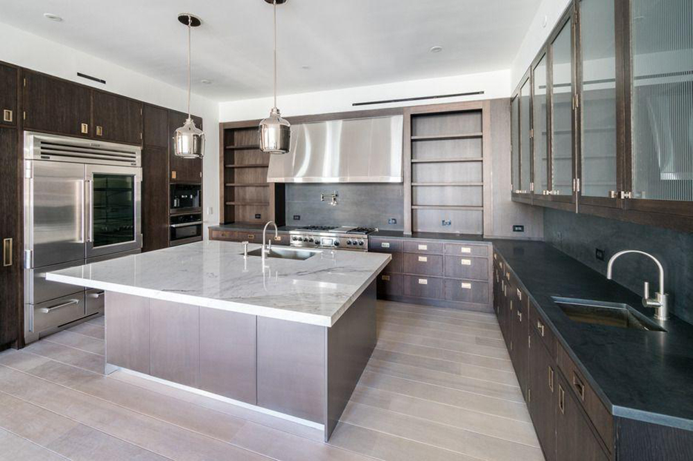 Jennifer Lawrence Tribeca Apartment Kitchen