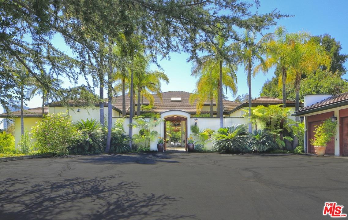 Adam Levine Buys Holmby Hills Estate Front