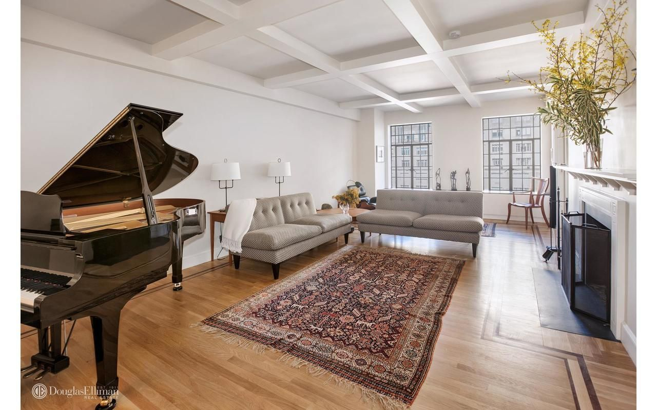 michael c hall snags manhattan home for $4.3 million living room
