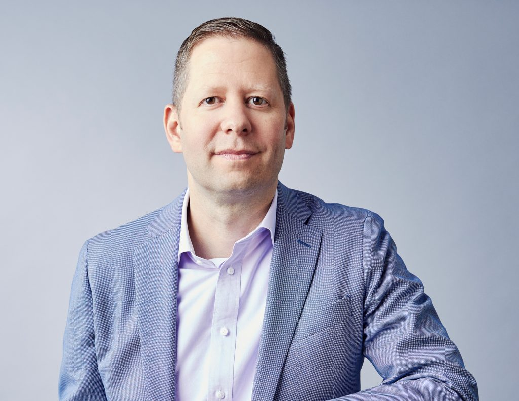 Portrait of Zillow Chief People Officer Dan Spaulding