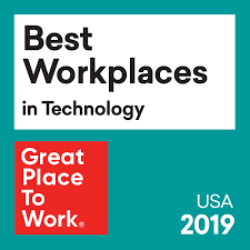 Great Place to Work Best Workplaces for Technology 2019