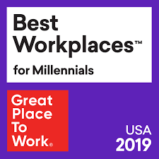 Great Place to Work Best Workplaces for Millennials 2019